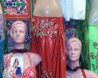 2 Bellydance costumes. Lot of 2 costumes.