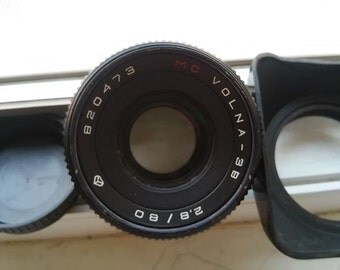 MC VOLNA-3B 80mm f/2,8(Pancolar optical scheme)