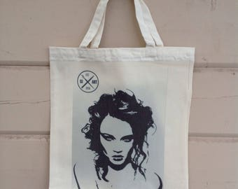 Meduza - canvas bag/kangaskassi
