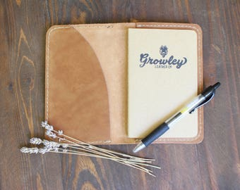 Leather Moleskine, Leather Field Notes Cover, Leather Field Notes, Leather Notebook Cover, Bridesmaid Gift, Groomsmen Gift