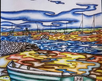 Brancaster Harbour - Norfolk
