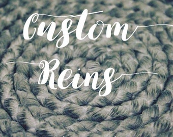 Custom Single Color Reins