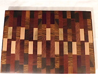 Handmade Wood Endgrain Cutting-Chopping Board