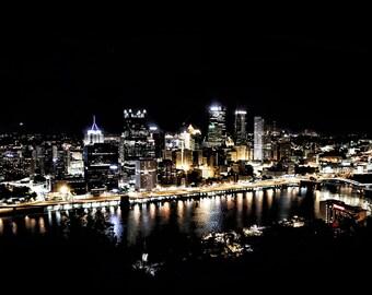 Pittsburgh by Night (Mount Washington View)
