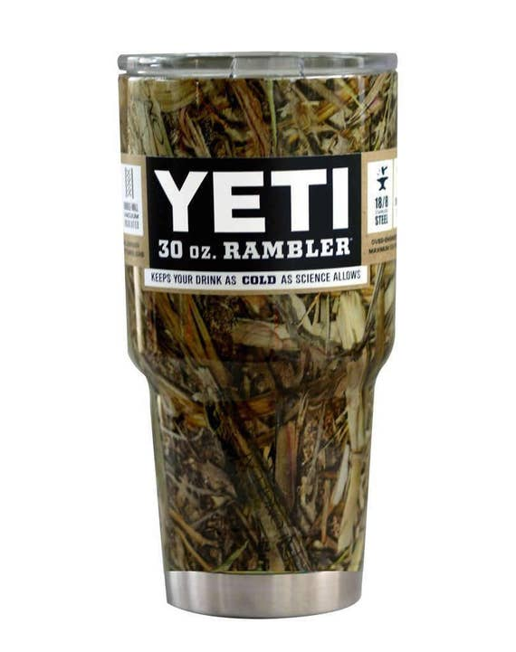 Custom Dipped Camouflage 30oz 30 Ounce Yeti Stainless Steel