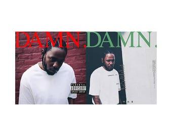 Kendrick Lamar DAMN Poster Artwork