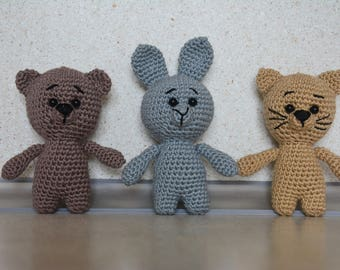 Crochet animal toys