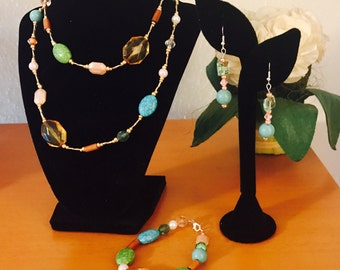 Easter Sunday 3 piece jewelry set