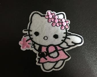Hello Kitty, Hello Kitty Iron on Patches, 6.5x7cm size