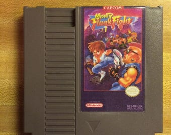 Mighty Final Fight NES reproduction