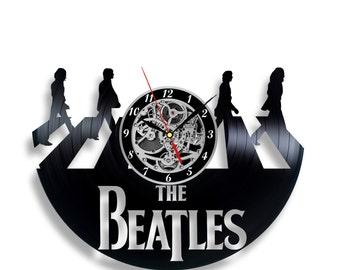 Beatles Vinyl record clock Home design home decor wall clock
