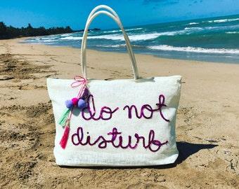 Personalized Beach Bag / Tote Bag / Purse