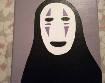 No Face Acrylic Painting