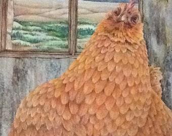 Rustic Hen
