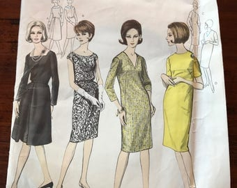 Vintage Vogue Pattern - Basic Dress