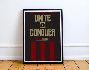 Atlanta United - Unite and Conquer Poster