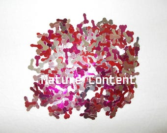Tiny Penis Confetti, Bachelorette Party Supplies, Decorations, Adult Parties, Pecker Willy Dick, Girls Night, Final Fling, Hens, Bachelor