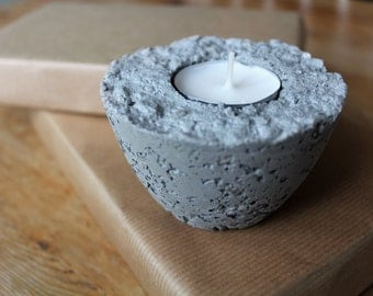 Concrete | candle holder
