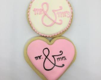 Mr & Mrs Wedding Bridal Shower Favors