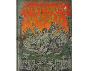 1897 Young Peoples History of the World Illustrated Book