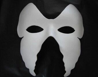 White Mask plain masks fancy dress masquerade party halloween mask decorate
