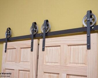 double barn door hardware sliding barn door hardware