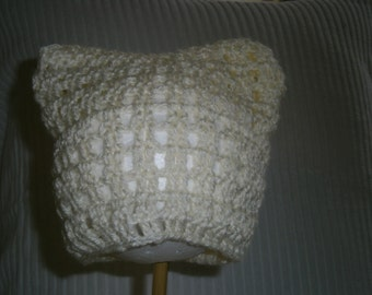 3 month old baby beanie -always made with love