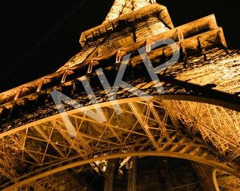 Eiffel Tower, Paris, France. Romantic Photography, Sepia- spring, summer