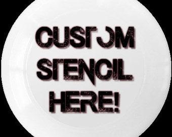Request a custom disc!