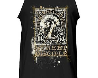 Street Disciple Native American Tank Top