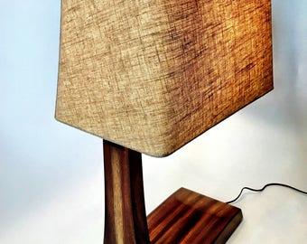 Lamp, Desk Lamp, Table Lamp, Wood Lamp, Mid-Century Lamp, Modern Lamp