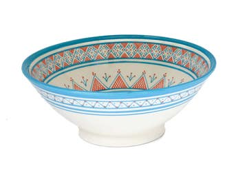 Safi Dotti Serving Bowl 2, Blue