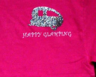 Happy Glamping tshirt