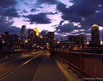 Stone Arch at Sunset