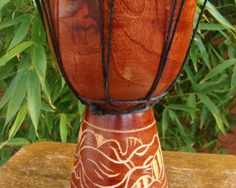 Djembe Tam Tam Bongo Drum Wood wooden drum
