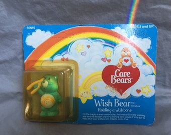 Vintage Care Bears Wishbear *Unopened* 1980s
