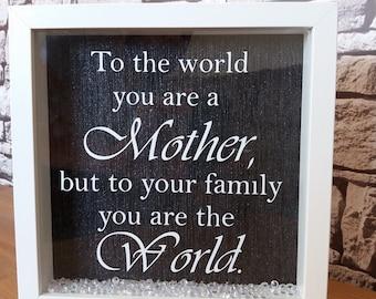 Personalised frame Mother's Day gift mum, nan, nanna, gran