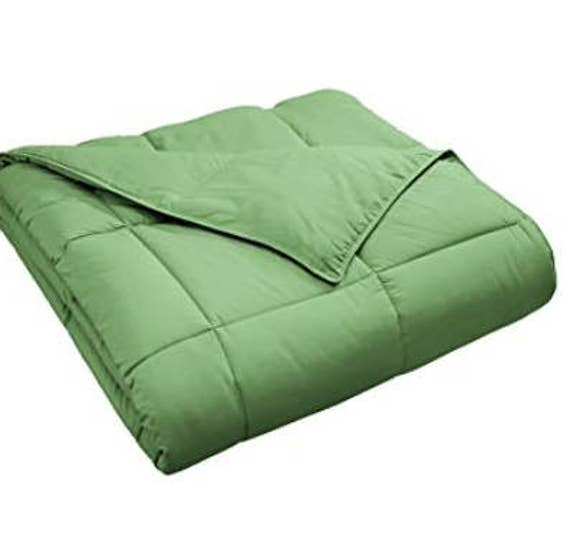 Adult Weighted Blanket Terrace Green62x86