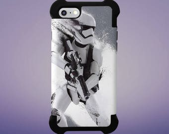 StormTrooper Case for iPhone 5, 6, 6+, 7, 7+ and Samsung Note 5, s6, s7 Edge, s7