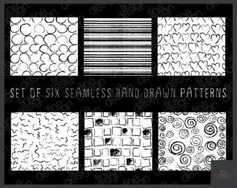 Digital pattern paper fabric