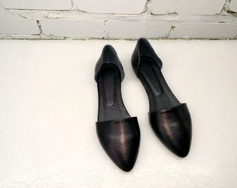 Leather Shoes for Women Leather Flats Casual Shoes Ballerinas Flat Shoes Casual Shoes pointy shoes