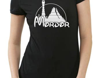 Mordor ladies T shirt