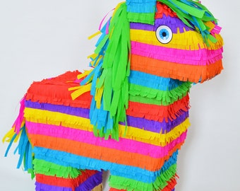 Colorful Burro pinata