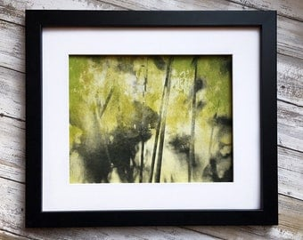 Abstract Art Print - Original Etching - Sweet Illusions