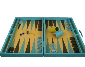 Backgammon Board Competition Size - A kind of Blue