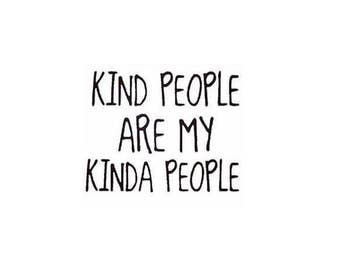 Kind People Print