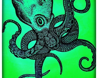 Lime Octopus