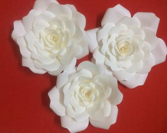 20 paper roses - wedding decoration,  party decoration ...