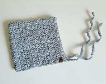 Crochet Bonnet | Pixie Bonnet | 3-6 Months