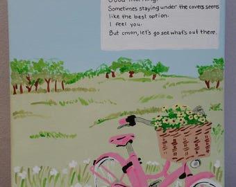 Lin Manuel-Miranda Tweet painting